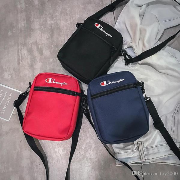 l'ultimo f9387 28e21 Acquista Champion Borse Monospalla Unisex Brand Fashion Mini Leisure Borsa  A Tracolla Single Shoulder Shopping Shopping Pack In Vita A $3.96 Dal Teem  ...