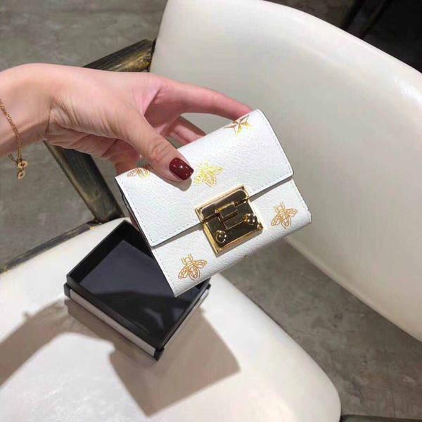 패션 멀티 카드 정품 가죽 지갑 여성용 대용량 숙녀 클래식 지갑 Walletslong 세 배 지갑 클러치