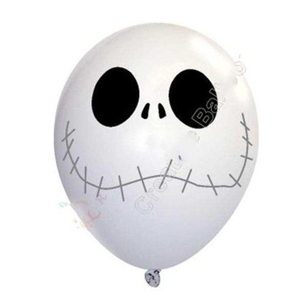 Verkaufen Sie gut Design Schädel Halloween Ballon Schädel Latex Ballons schmücken Kind Ghost Birthday Festival New Style 0 55cyH1