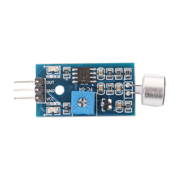 Compre Módulo De Sensor De Som Para Arduino De Xuxiaoniu 7 16 Pt Dhgate Com