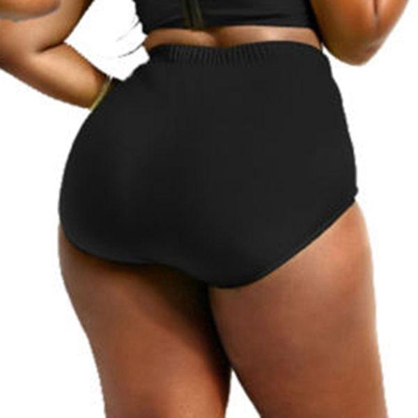 New Summer Sexy Women's High Waisted Bikini Swimsuit Bathing Beach Swimwear Beachwear Bottoms Plus Size