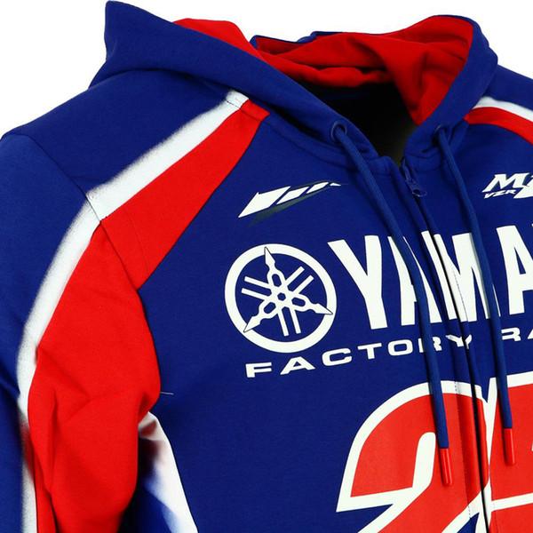 for Yamaha M1 Windproof mens motorcycle hoodie racing moto riding hoody clothing jackets men cross Zip jersey sweatshirts coat