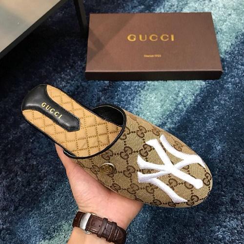 2019 Pantofole da uomo indoor in pelle premium classiche pantofole da uomo in pelle premium taglia 38-44