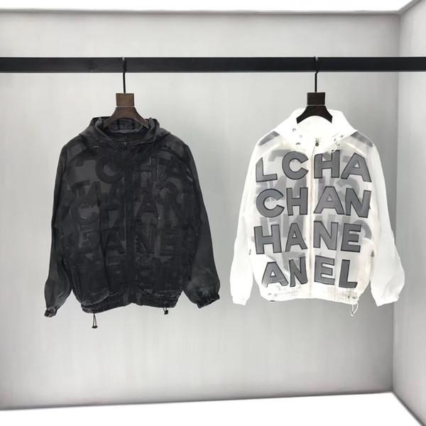 New Mens designer vestes Womens Windbreaker Non Détachable Hood Jacket pour Homme Marque Vêtements Chaquetas Hombre