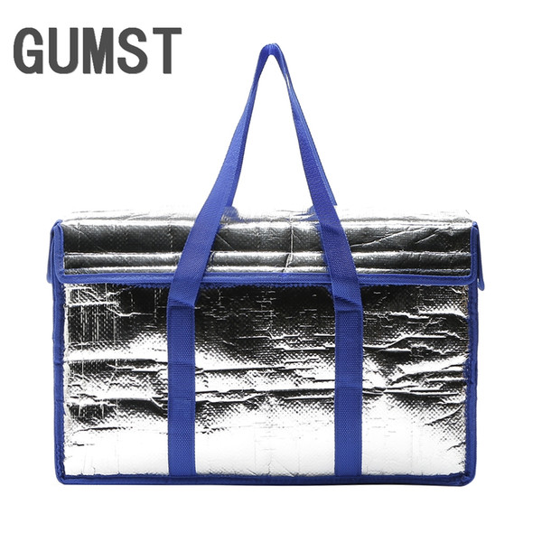 GUMST 22L thermal big picnic cooler bags insulated vehicle insulation cool ice pack lunch box fresh carrier bolsa termica