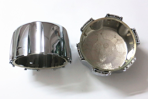 Rueda de repuesto Cubierta de la tapa del cubo del centro + Clip de retención Ajuste Mitsubishi Montero Sport Pajero Cubierta del coche