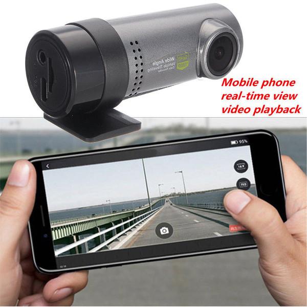 Mini Dash Camera Car DVR Hidden High Definition Tachograph Vehicle-mounted USB Screeless Wifi Traffic Cycle Recording Recorder