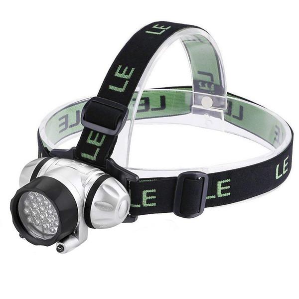 LED Headlamp, 4 Lighting Modes, Lightweight Headlight, Helmet Light for Outdoor, Camping, Running, Hiking, Reading and more