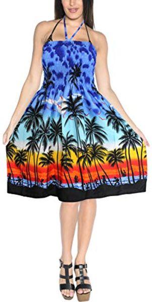 8b7d6e738 Compre LA LEELA Mujer Boho Beachwear Verano Relajado Aloha Party ...