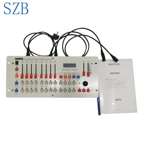 DMX 240 Controller Moving Head Beam Licht Konsole DJ 512 DMX Controller Ausrüstung für Disco Nightclub Party / SZB-DISCO240
