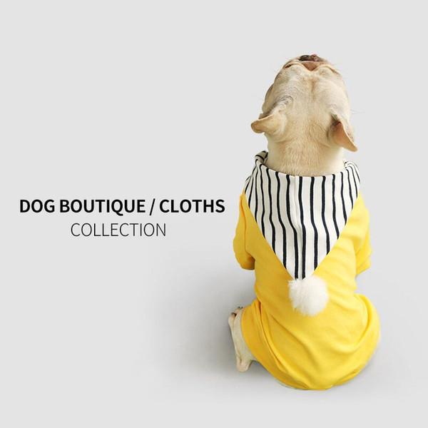 Pet roupas com capuz para animais de estimação Teddy roupas para animais de estimação hoodies cão casaco cão vestuário inverno grosso cão outwears camisolas XS-XXXL