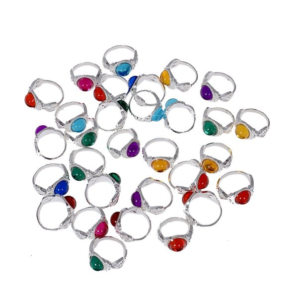 100pcs High Quality Colorful Ring For Children For Gifts Birthday Creative Gift Random Colors Jewelry Size Diameter 13-15