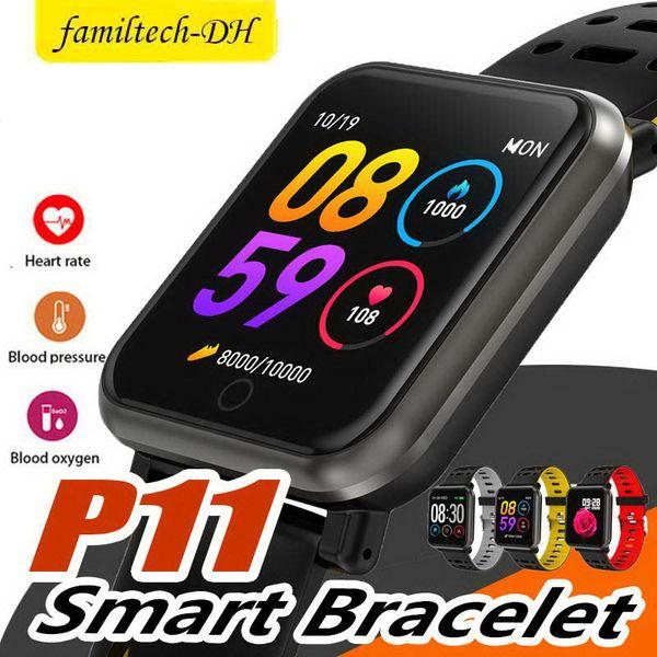 Best P11 Sport Smart Watch Men Women Waterproof Smartwatch Fitness Tracker Heart Rate Monitor Smart Clock Sleep Monitor Pedometer