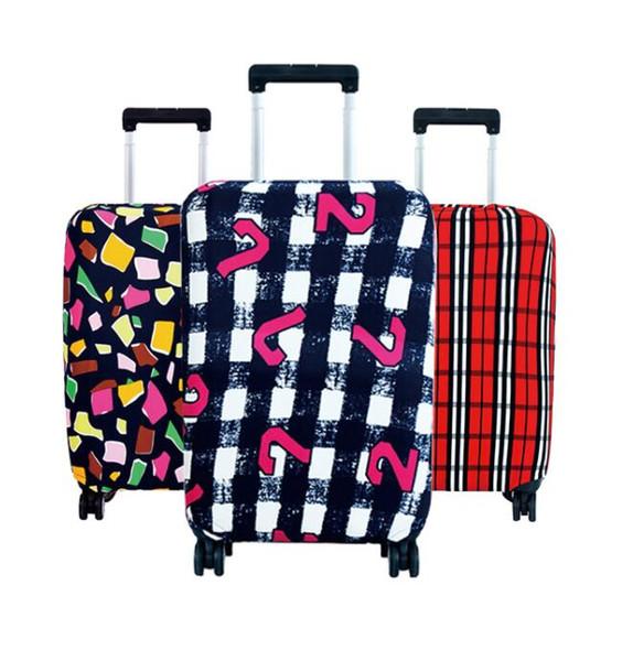 Designer-Hot Fashion Travel on Road Copri bagagli Protettivo Custodia da viaggio Custodia da viaggio Custodia da viaggio Protezione antipolvere da 18 a 30 pollici
