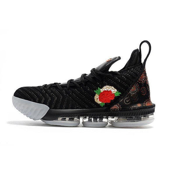 Air High Quality lebron shoes Basketball Shoes Arrival Lebron 16 Sneakers 16s Mens Casual 16 King James sports shoes LBJ EUR 40-46