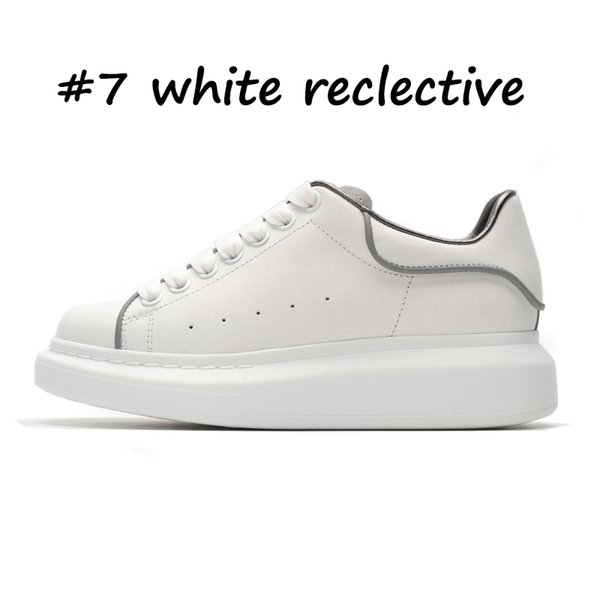 7 reclective blanc