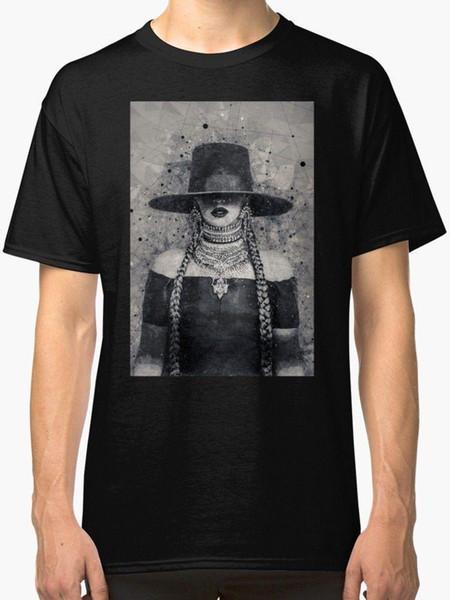 Beyonce Lemonade Geometric art print Men's T shirt Black