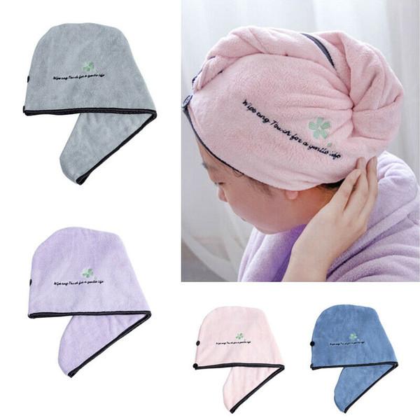 Hat Cap Spa Towel Bath Salon Dryer Hair Drying Magic Quick Dry Towel