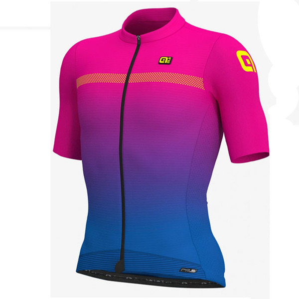 ALE Pro team Mens Short Sleeves tops Breathable and quick-drying Bike Clothes Cycling jersey Outdoor Bicycle Riding sportswear Ropa Ciclismo