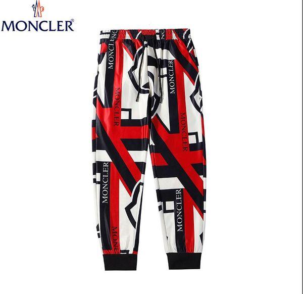 5A Vintage Side Stripe purple Patchwork Pants 2018 Mens Hip Hop Casual Elastic Waist Knee Length Joggers Sweatpants Fashion Male Streetwear