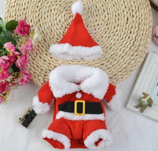 Terno de traje de Papai Noel