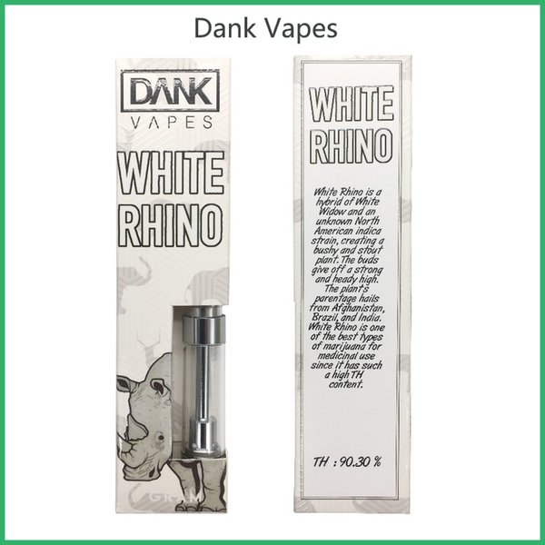 Dank Vapes G5 empty Cartridges 1.0ml 1 Gram vaporizer pen no leak Vape Tanks for 510 CO2 Oil Atomizer with 41 Flavors