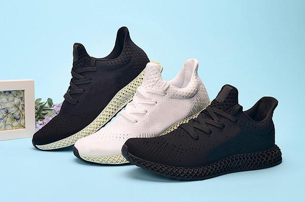 Futurecraft 2019 4d Zapatillas de running para hombre Diseñador de moda Alphaedge Ash Triple Negro Blanco Verde Des Chaussures Homme Zapatillas deportivas Zapatillas de deporte