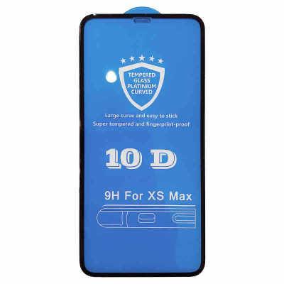 SZAICHGSI 500pz 10D vetro protettivo per copertura completa per iPhone 6 6S 7 8 plus X XR vetro XS MAX per iphone 7 6S X XR XS MAX protezione per lo schermo