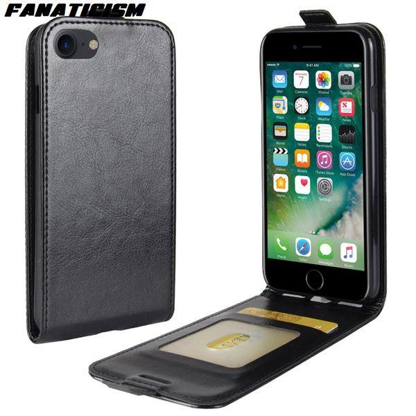 Fanaticisme Portefeuille En Cuir Vertical Flip Case Pour iphone XR XS Max 7 8 Plus Samsung S10 S10e Note En Cuir Couverture de Téléphone D'affaires