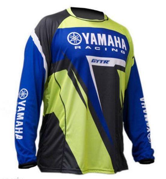 Venda quente novo Novo Moto GP para YAMAHA Motocross Jersey Montanha Honda Motocross Jersey BMX DH MTB transpiração YAMAHA Camiseta DDF