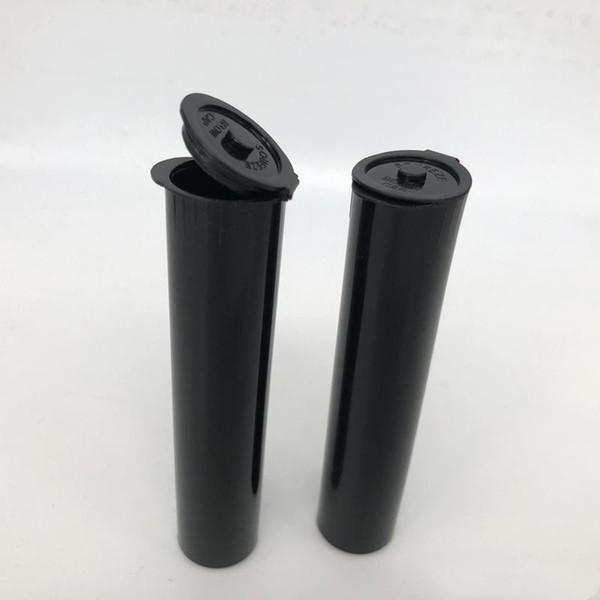 Ecig Tubo de plástico resistente a los niños para el embalaje del cartucho vape Kingpen Pop Top PP Tank Clear Tube Thick Oil Tool