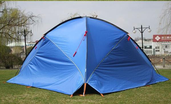 3Walls! Toldo barraca ultralarge sol-shading tenda de praia tentorial / conta anti-uv marquise / grande flysheet