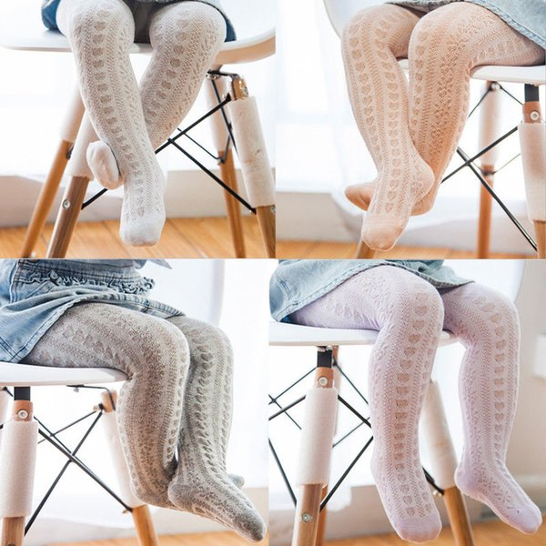 Baby Girls Tights Girls Knitted Pantyhose Fashion Cotton Cute Girls Tights Toddler Kids Stocking Baby Hosiery Infant