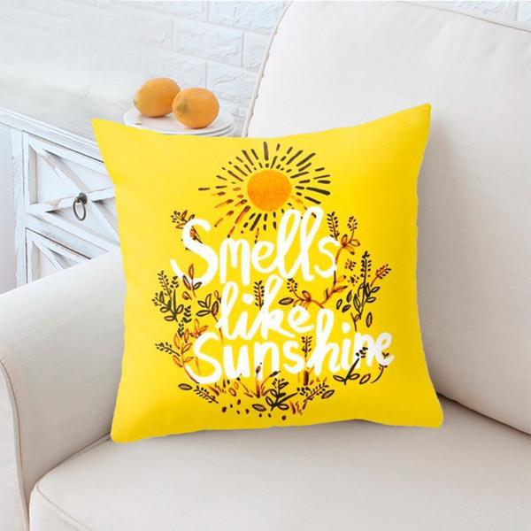 PIllow Case Pineapple-Blattkissen verkaufen sich gut und können jetzt nach Wunsch von Jane Nordic Auto-Kissen Sofakissen sein