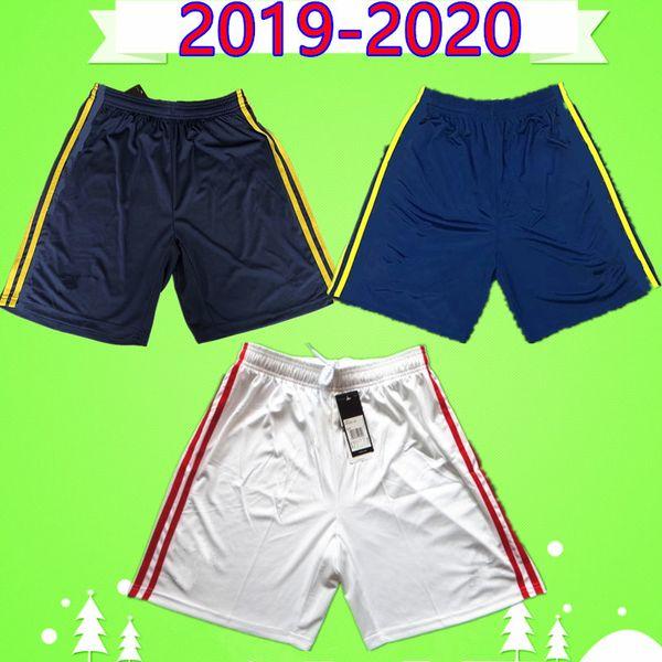 Arsenal soccer jersey shorts  19 20 pantalones cortos de fútbol Hombres adultos 2019 2020 hogar pantalones de fútbol blancos Portero azul SokratIs zaha fekir martinelli leno kessie