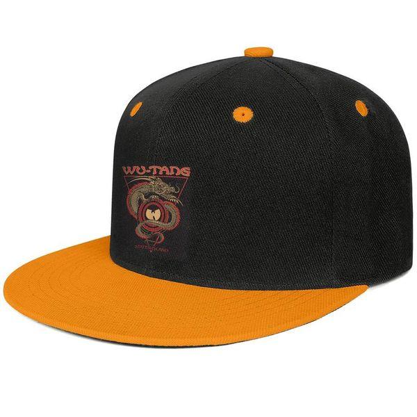 Wu tang clan staten island dragon Design Hip-Hop Cap Snapback Flatbrim Baseball Hats Stylish Adjustable