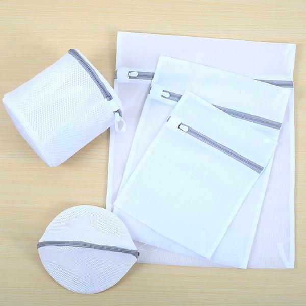 Mesh Sacs de blanchisserie pour le stockage de voyage délicat Organiser le sac Vêtements Sacs de lavage pour la blanchisserie Blouse Soutien-gorge Bas Sous-vêtements