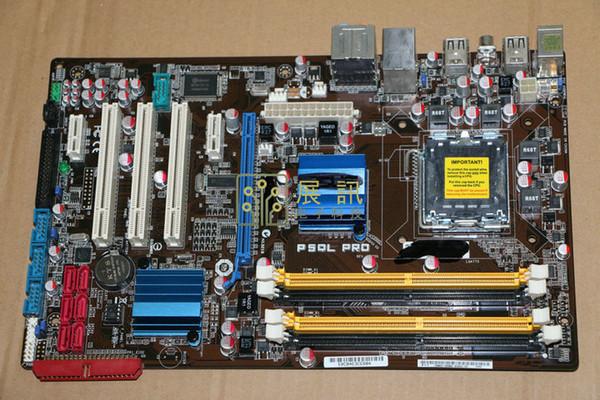 Ursprüngliches Motherboard des freien Verschiffens für ASUS P5QL PRO DDR2 LGA 775 USB2.0 16GB Desktop-Motherboards
