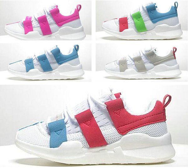 Children's shoes EQT SUPPORT ADV NEW Real boost Boys Girls kanye west sply Shoes black pirate Fashiion Athletic youth running Shoes