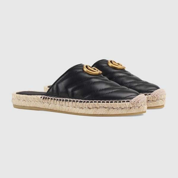2019 classic light fisherman shoes for women, Espadrille Flats with Straw Weaving Soles Casual Women slippers Slip-on for Daily Use