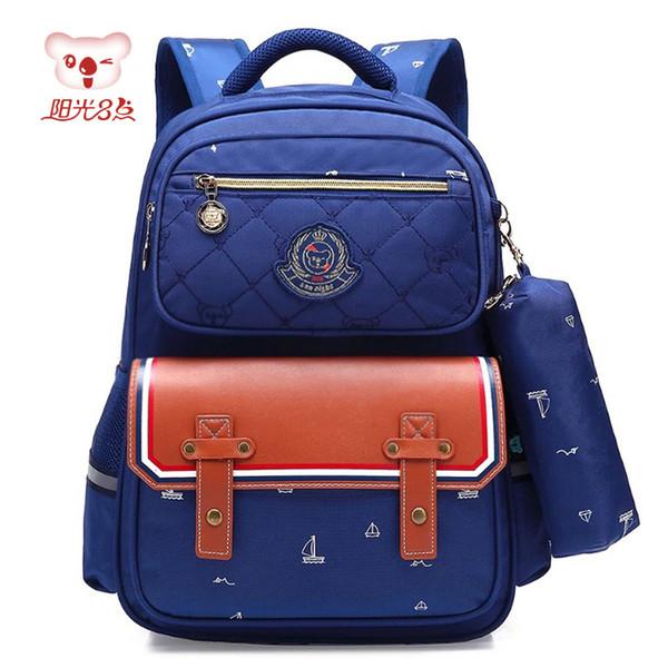 SUN EIGHT Дети Школьная сумка mochila infantil Ортопедическая Мода Детская Школьная сумка Рюкзак Для девочки Водонепроницаемый Рюкзак