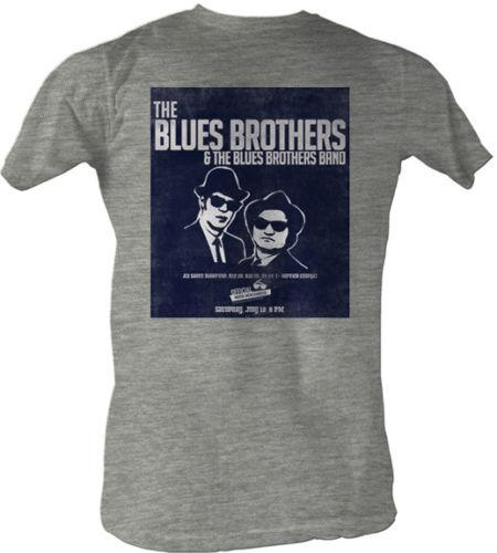 The Blues Brothers & The Blues Brothers Band Adult T Shirt Classic Movie Cool Casual pride t shirt men Unisex New