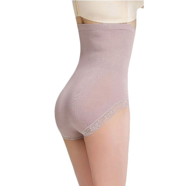 Women's Shaper Panties Beauty Care Control Body Slimming Sexy Lace Briefs Ladies Underwear