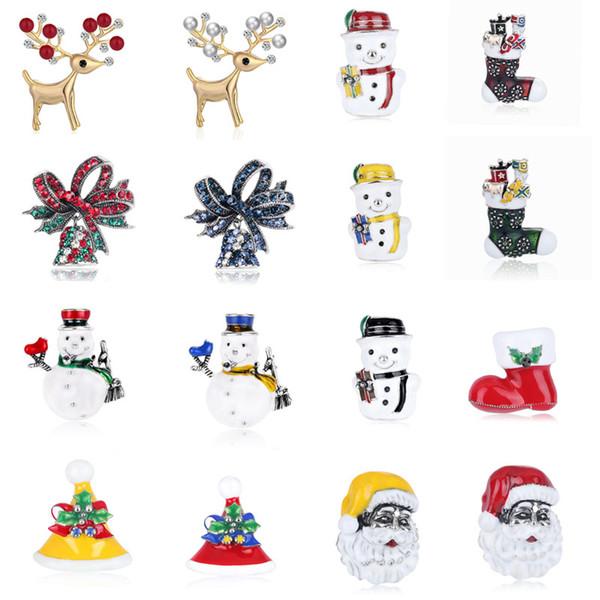 Compre Papai Noel De Natal Xmas Bota Sino De Cristal Boneco De