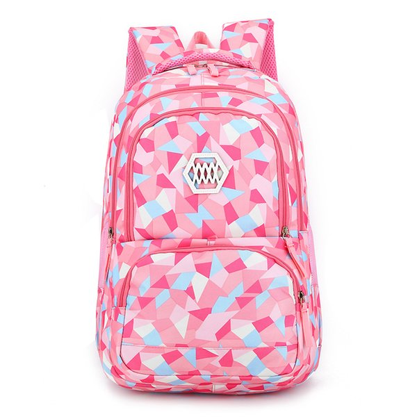 Puimentiua Waterproof Children SchoolBags For Teenagers Boys Girls Big Capacity School Backpack Satchel Kids Book Bag Mochila