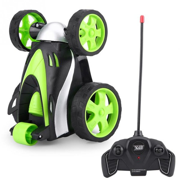 Funny Mini Remote Control Tumbling Stunt Car 360 Rolling Toy RC Vehicle Stunt Car Radio Electric Dancing toy for Children Gift