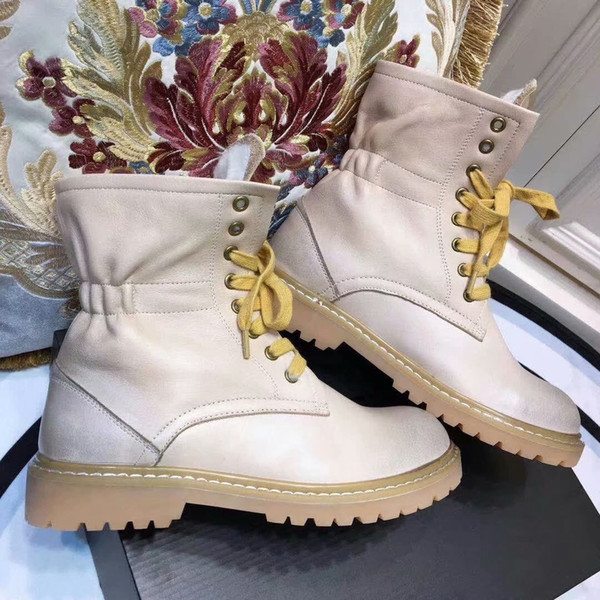Fashion Snow Boots With Thick Bottom Women Short Boots Winter Style Round Toes Ladies Flat Heel Ankle Boots