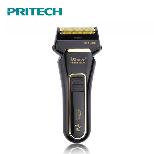 Pritech Electric Shaver Electric Razor For Men Machine For Shaving Reciprocating Floating Beard Trimmer Rechargeable Razor T10190617