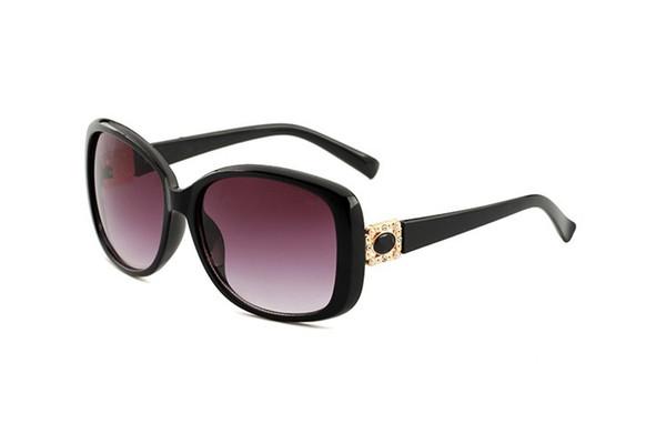Nuovi occhiali da sole moda high-end 2022, occhiali da sole con montatura grande, occhiali parasole per esterno europei ed americani