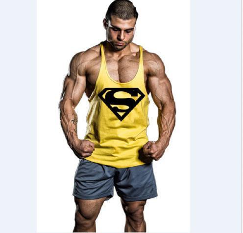 Супермен Курчавый жилет - желтый
